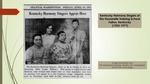 Kentucky Harmony Singers of the Housewife Training School, Fulton, Kentucky (1923-19??) by Reinette F. Jones