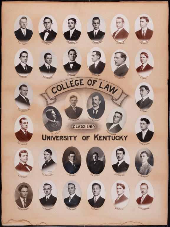 College of Law Class of 1910