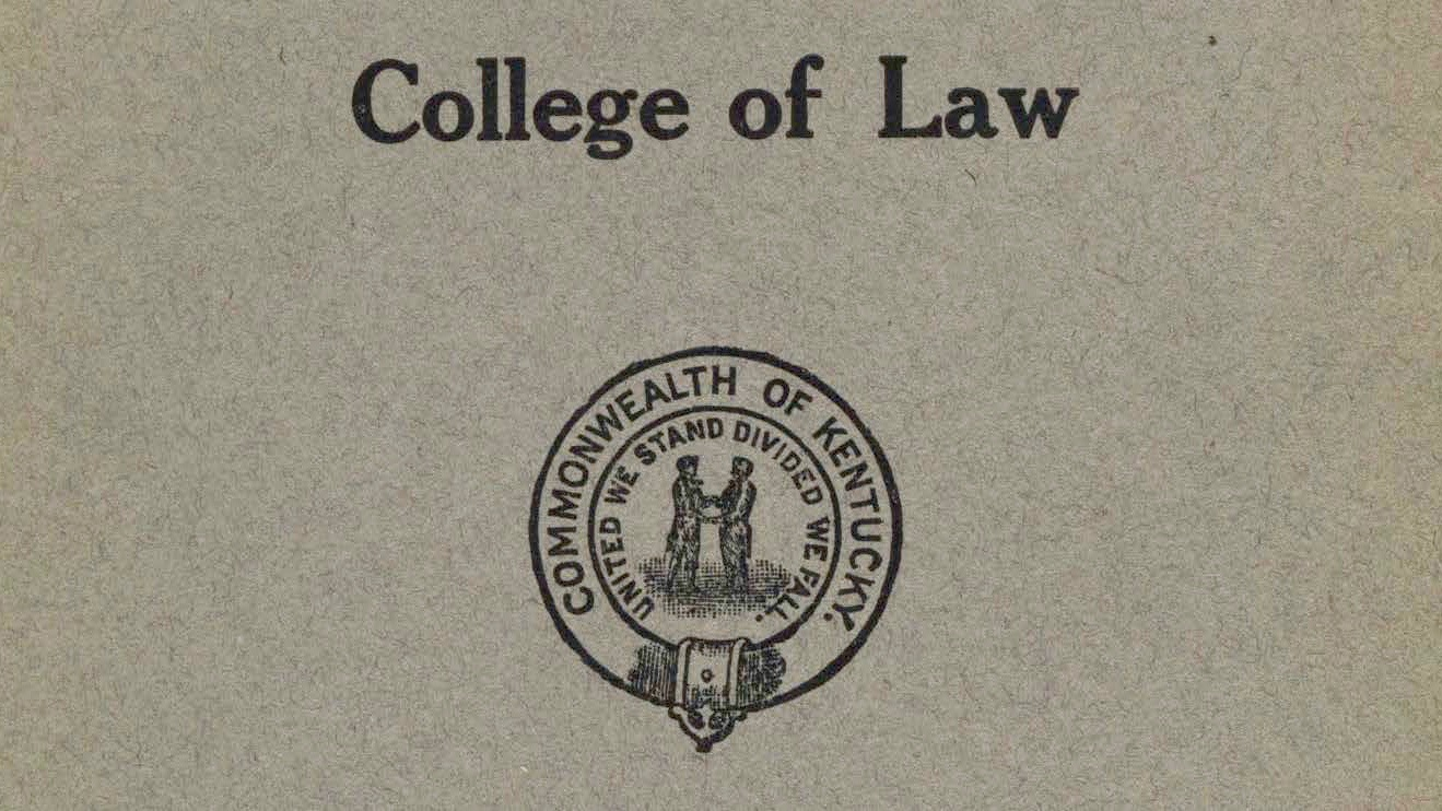 College of Law Bulletins
