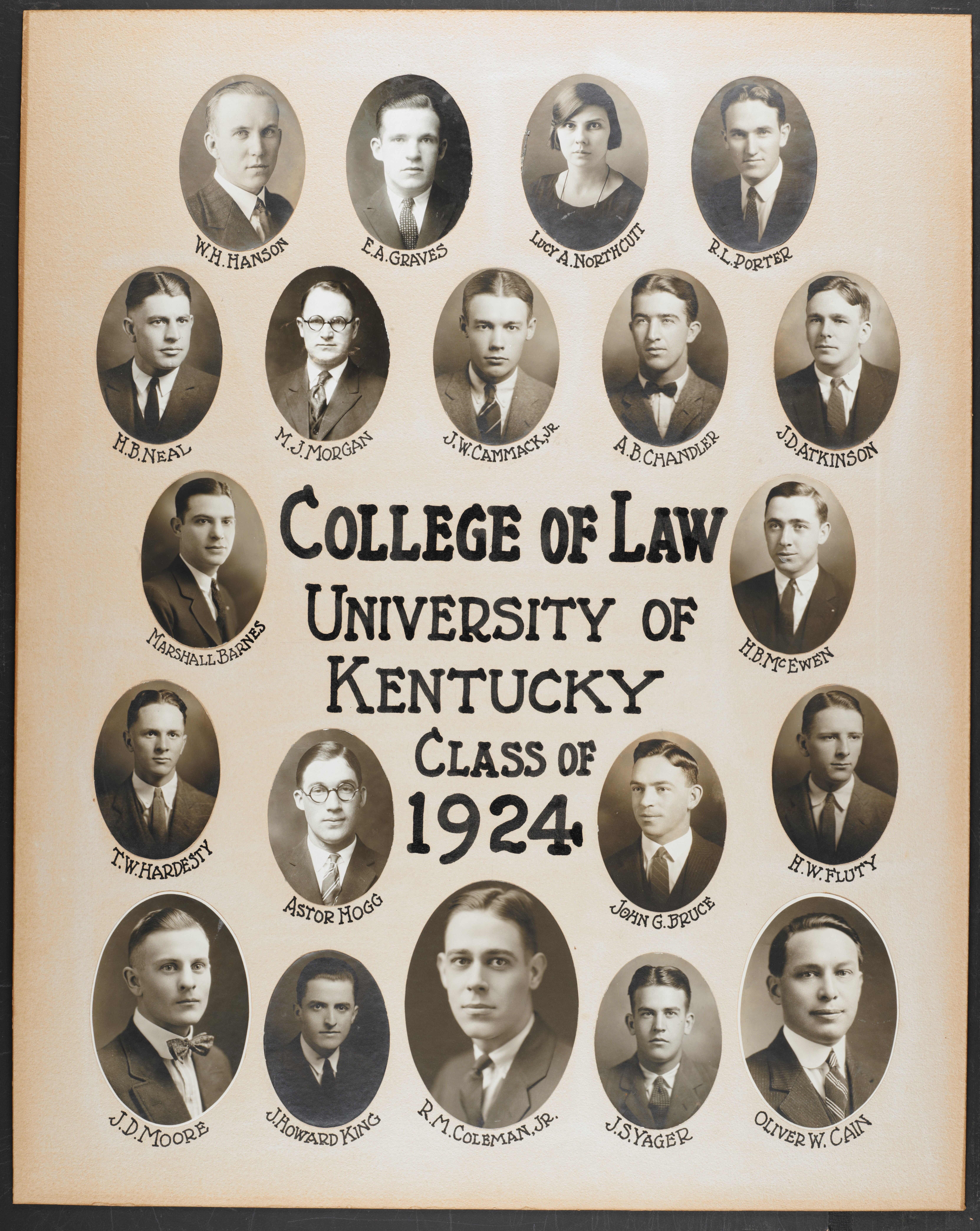 College of Law Class of 1924