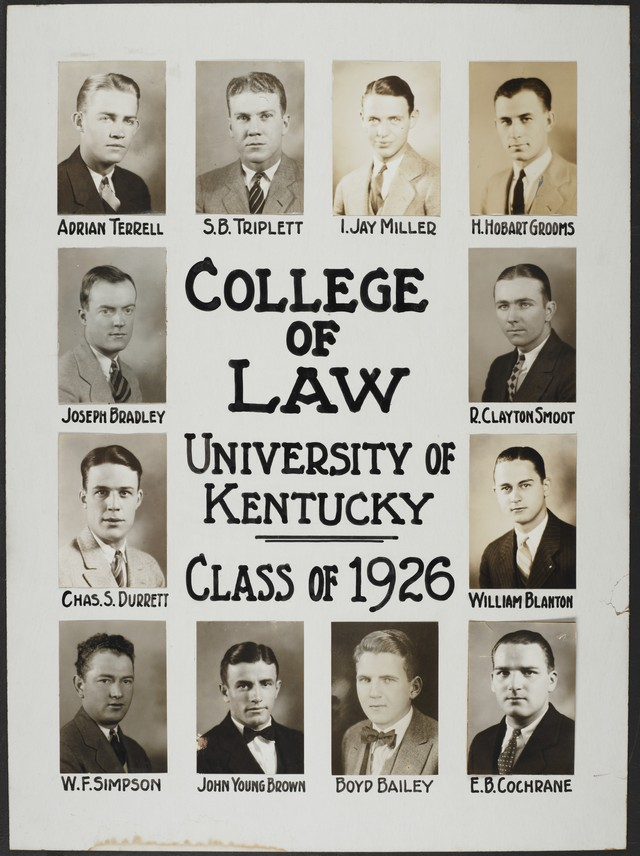 College of Law Class of 1926