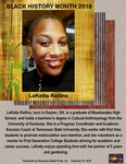 February 18: LaKetta Rollins by Reinette F. Jones