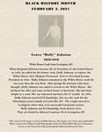 """February 3: Laura """"Dolly"""" Johnson by Reinette F. Jones"""