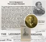 February 8: R. C. O. Benjamin and the Lexington Standard by Kopana Terry