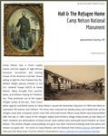 February 12: Hall and the Refugee Home, Camp Nelson National Monument by Kopana Terry