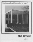 The Review of the College of Law Alumni Association, Winter 1976