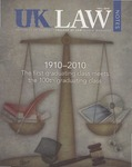 UK Law Notes, 2010 by University of Kentucky College of Law