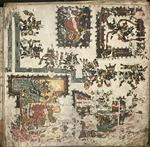 The Codex Borgia, folio 35 by Jacob S. Neely