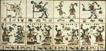 The Codex Fejérváry-Mayer, also known as <em>Tonalamatl de los pochtecas</em>, folios 9-10 by Jacob S. Neely