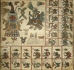 The Codex Borbonicus, folio 13 by Jacob S. Neely