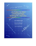 Lectures in Basic Computational Numerical Analysis by James M. McDonough