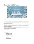 Tort & Sweet: An Occasional Law Library Newsletter, December 2, 2019 by University of Kentucky Law Library