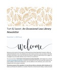 Tort & Sweet: An Occasional Law Library Newsletter, November 1, 2019 by University of Kentucky Law Library