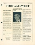 Tort & Sweet: An Occasional Law Library Newsletter, August 1995 by University of Kentucky Law Library