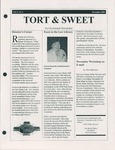 Tort & Sweet: An Occasional Law Library Newsletter, November 1996