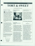 Tort & Sweet: An Occasional Law Library Newsletter, February 1997