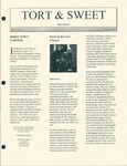 Tort & Sweet: An Occasional Law Library Newsletter, August 1998 by University of Kentucky Law Library