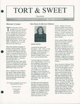 Tort & Sweet: An Occasional Law Library Newsletter, December 1998 by University of Kentucky Law Library