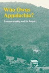 Who Owns Appalachia? Landownership and Its Impact