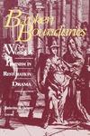 Broken Boundaries: Women and Feminism in Restoration Drama