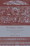 The Religious Sublime: Christian Poetry and Critical Tradition in 18th-Century England