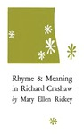 Rhyme and Meaning in Richard Crashaw
