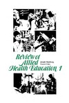 Review of Allied Health Education: 1