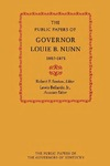 The Public Papers of Governor Louie B. Nunn: 1967–1971