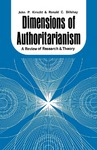 Dimensions of Authoritarianism: A Review of Research and Theory