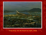 Hong Kong: Kai Tak Airport by Night by Gordon Hogg