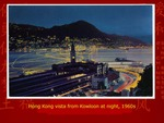 Hong Kong Vista from Kowloon at Night