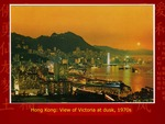 Hong Kong: View of Victoria at Dusk