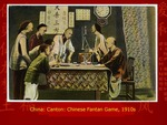 China: Canton: Chinese Fantan Game
