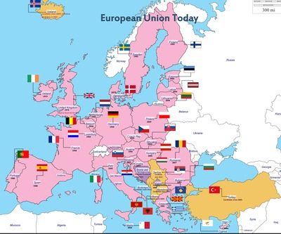 The Journey to Modern Europe: Evolution of the European Union