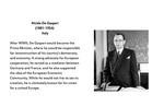 Founding Father: Alcide De Gasperi (1881-1954), Italy