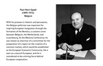 Founding Father: Paul-Henri Spaak (1899-1972), Belgium