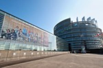 European Union Parliament Building, Strasbourg, France by Brad Allard