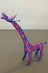 Blue and Red Giraffe