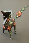 Black Flowered Horse [2]