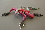Pink and Green Lizard [1]
