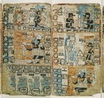The Madrid Codex (Tro-Cortesianus Codex), pp. 50-51 by Christopher Pool and Barry Kidder