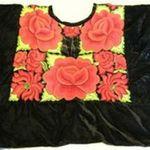 Black Velvet with Roses