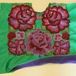 Green Vintage Flowers