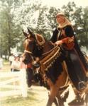 Arabian Tack on the Horse 1 by Roda Ferraro