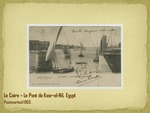 Le Pont de Kasr-el-Nil