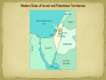 Modern State of Israel and Palestinian Territories