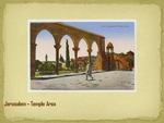 Jerusalem--Temple Area