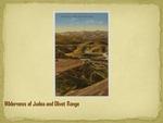 Wilderness of Judea and Olivet Range