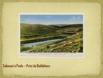 Salomon's Pools--Près de Bethléhem