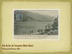 Vue de lac de Yamoune (Mont Liban)